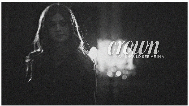 ► Clary Fairchild    you should see me in a crown