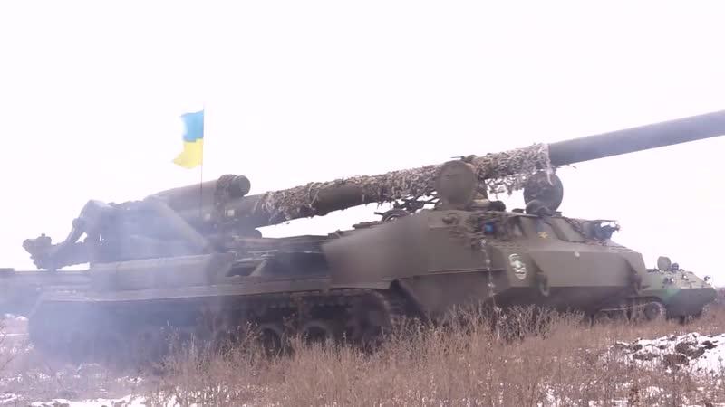 ВСУ испытали на Донбассе Пион.