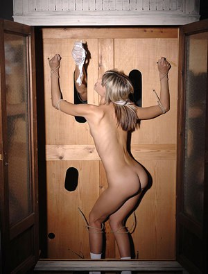 Blonde masturbation solo stockings webcam