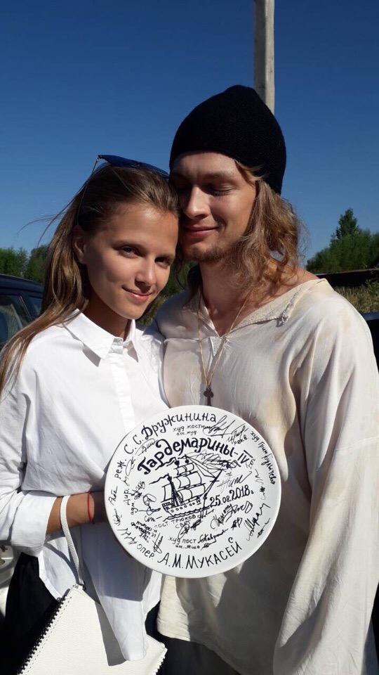 Ника Здорик и Андрей Лаптев