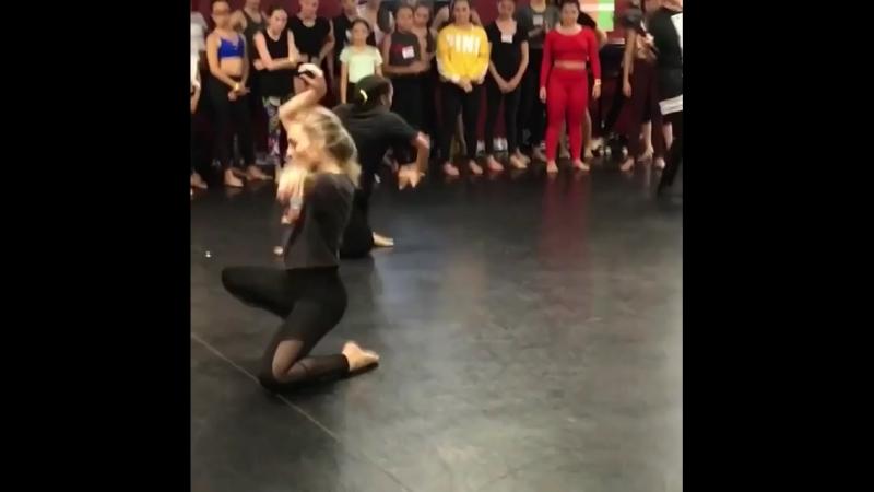 Maddie at dance
