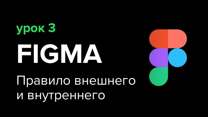 Уроки Figma Фигма №3 Правило внешнего и внутреннего теория близости модульность