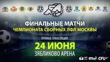 Чемпионат молодежных сборных. Северо-Восток - Север. (24.06.2018)