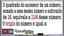 PROBLEMAS DE MATEMÁTICA COM EQUAÇÃO DO 2º GRAU - Prof. Robson Liers - Mathematicamente