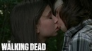 The Walking Dead 7x05 Carl and Enid Kiss Scene HD