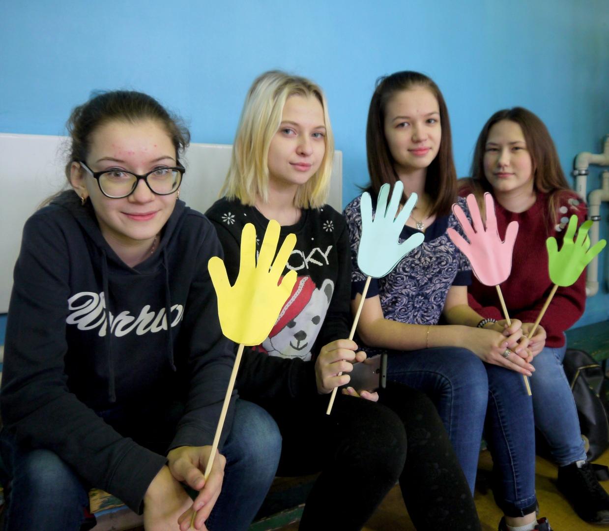 В Белове проходили студенческие соревнования по брумболу, 23 января 2019 г. День студента