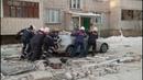 Жители дома на ул. Карла Маркса, 74а: «Мы сначала думали, что во дворе автомобиль взорвался»