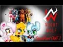 SpeedPaint ^^ Mangl Toy Bonnie and Toy Fraddy pony FNAF2