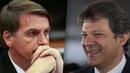 Bolsonaro estaciona em 28 Haddad sobe mais 5 em pesquisa