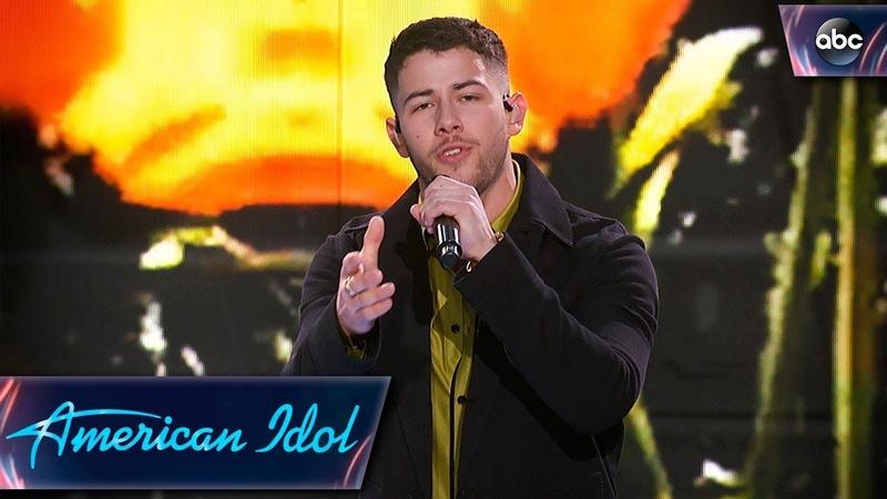 Nick Jonas Performs Anywhere with Mustard Jealous with Jurnee Finale American Idol 2018