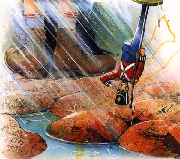 Стойкий Оловянный Солдатик Cказка с картинками Ганса Христиана Андерсена
