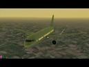 Полный полет Москва – Санкт-Петербург Airbus A320, S7 Airlines