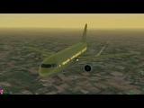 Полный полет Москва Санкт-Петербург (Airbus A320, S7 Airlines)