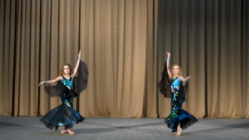 Юлиана и Майя ориенталь дети 2 межансе Habibi Style Show восточные танцы в Уфе танцы живота Уфа