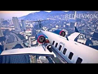 Лучшие трюки и смешные моменты из GTA 5 - AWESOME STUNTS FAILS