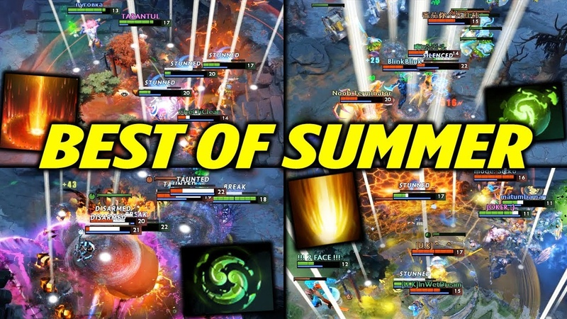Dota 2 Invoker Rampages [BEST OF SUMMER]