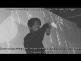 lil peep x ghostemane - sleepy hollow (lyrics + rus sub)