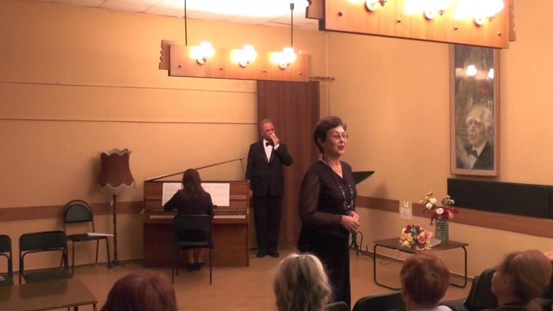 Концерт 26 октября 2018 в Воронежском Доме актёра — I отделение