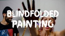 Blindfolded Painting Challenge Eng Ru Subs