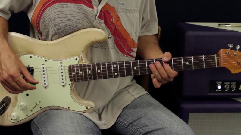 Jimi Hendrix Rhythm Licks