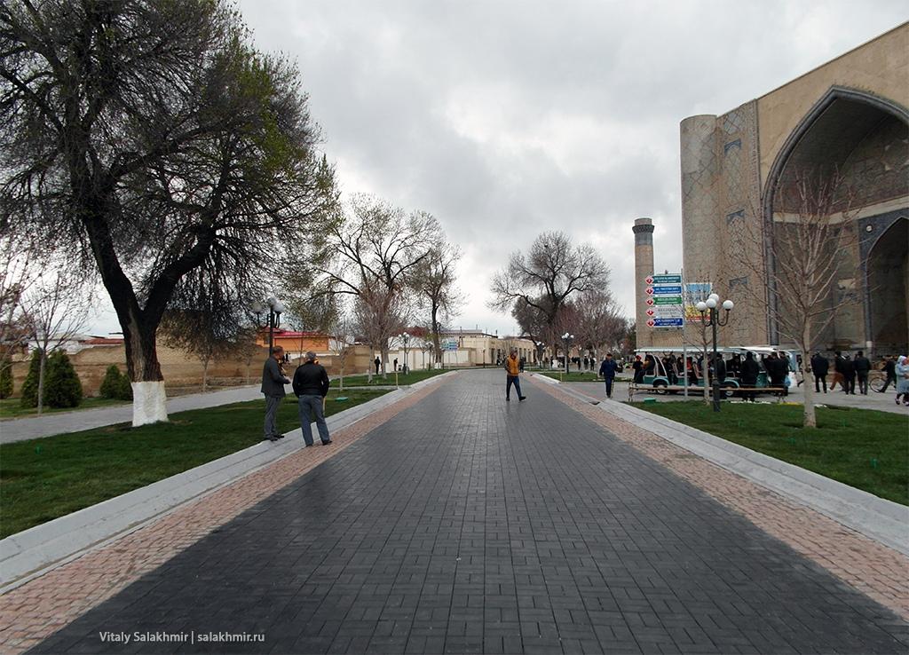 Арбат в Самарканде, Узбекистан 2019