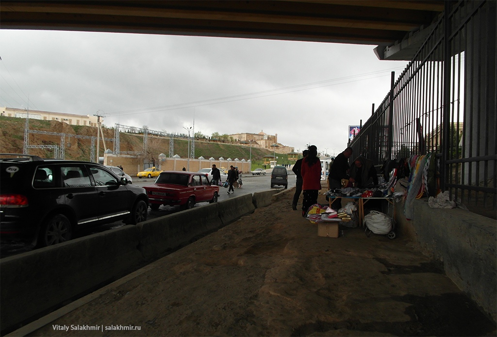 Базар под мостом, Узбекистан, Самарканд 2019