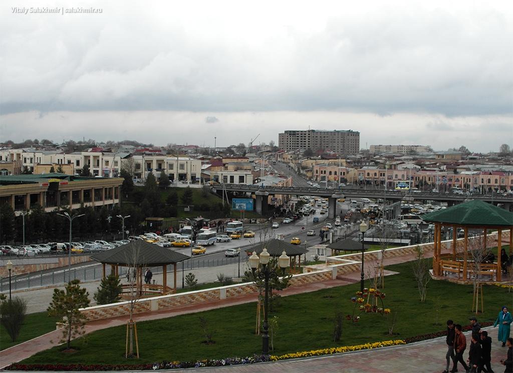 Панорама Самарканда, Узбекистан 2019
