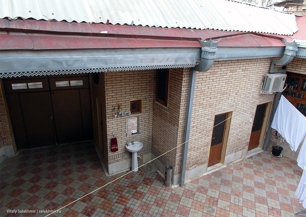 Планировка отеля в Самарканде – Sherxan House