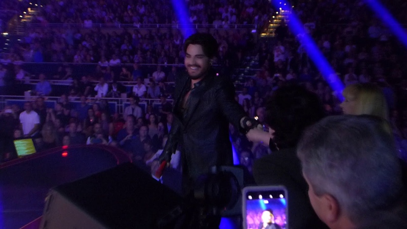 Queen Adam Lambert - I want to break free - live on stage - Las Vegas MGM Park Theater