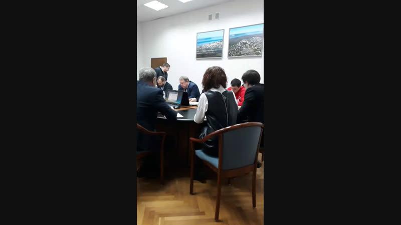 Ястребов Live Дума. Обсуждение наделения правом ГИБДД контролировать выхлопные газы.