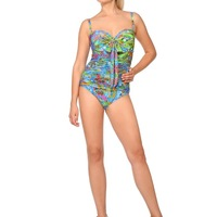 71096a93b4b2e Купальник женский слитный WDKS(XL) 041706 LG Thoma - multicolor