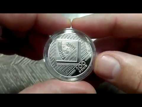 монета обзор Украина медаль 2018 г 100 лет Национальной академии аграрных наук обзор
