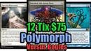 Budget Modern Blue White Polymorph vs Aura Hexproof Bogles