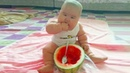 TRY NOT TO LAUGH ★ Chubby Babies Eating | Funny Babies Videos Compilation