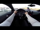 Crazy Audi driving in Traffic on highway!