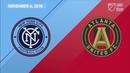 Playoffs 2018: New York City FC vs Atlanta United | November 4, 2018