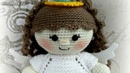 Амигуруми: схема Пупса в костюме ангелочка. Игрушки вязаные крючком - Free crochet patterns.