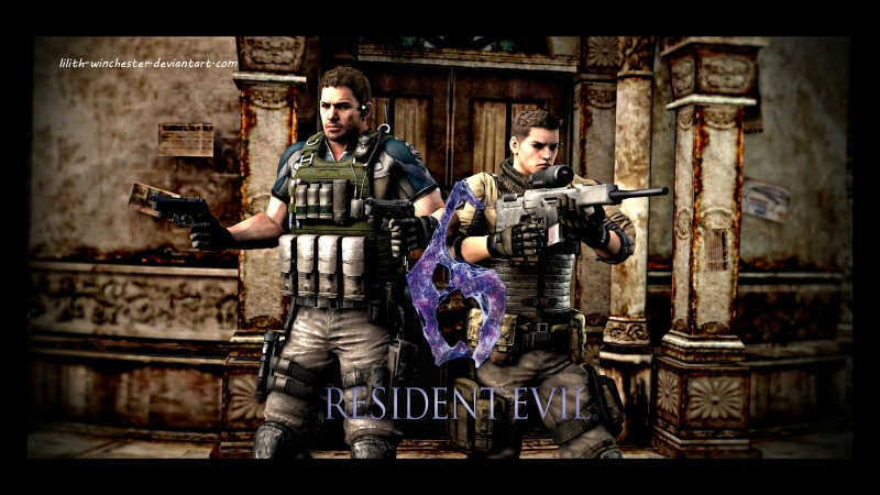 Resident Evil 6 - Chris Redfield and Piers Nivans campaign [ 1 ]