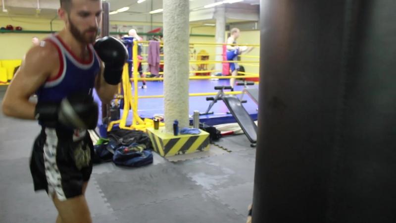 Подготовка омских бойцов к турниру Один на Один