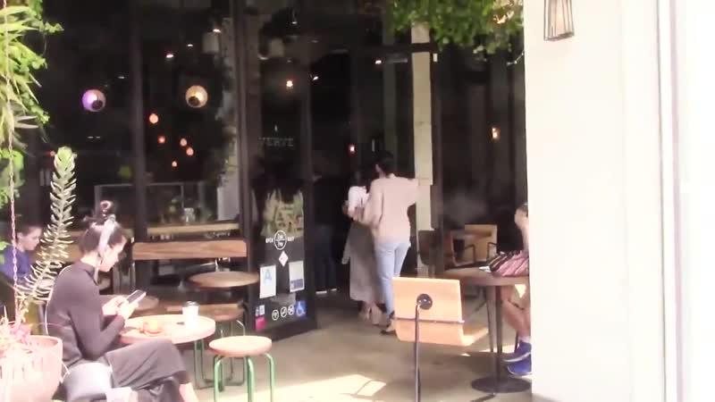 April 21 Selena Gomez arriving at Verve Coffee Los Angeles CA