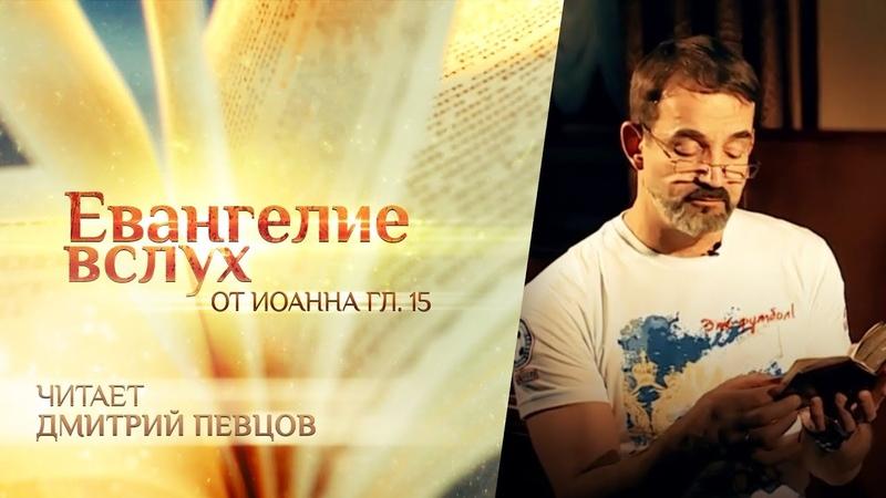 ЕВАНГЕЛИЕ ВСЛУХ ОТ ИОАННА ГЛАВА 15 ДМИТРИЙ ПЕВЦОВ
