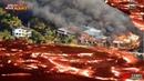 Hawaii volcano Terrifying Aerial Images Show Lava Destroying Homes on Hawaiis Big Island