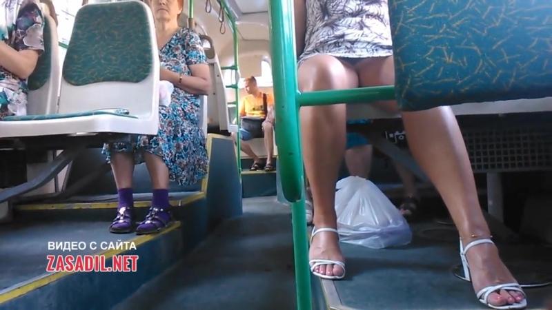 подсмотрели в общественном транспорте