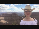 Cowboy Hat in Grand Canyon