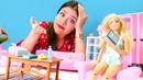 Barbie işlerini bırakıp denize gidiyor. Kız videoları
