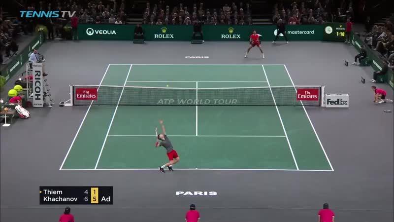 матч бол Хачанова против Тима