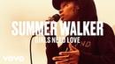 Summer Walker Girls Need Love Live Vevo DSCVR