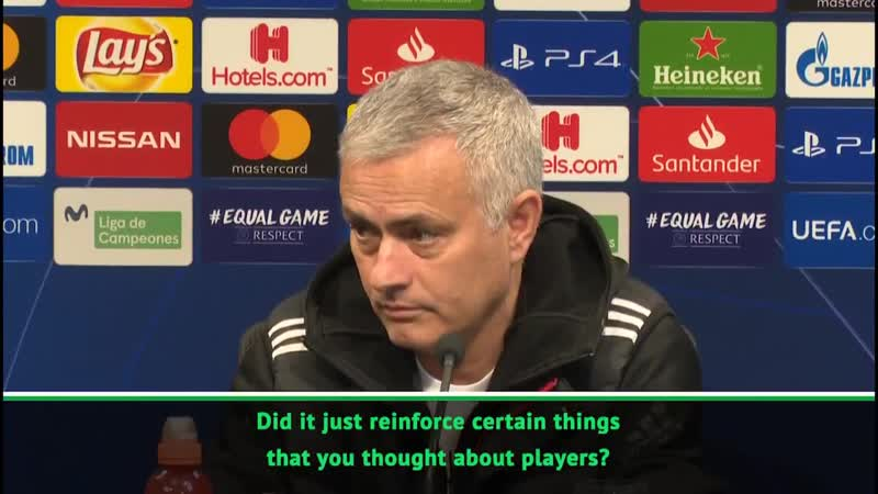 Q Jose did you learn anything from the loss to Valencia A