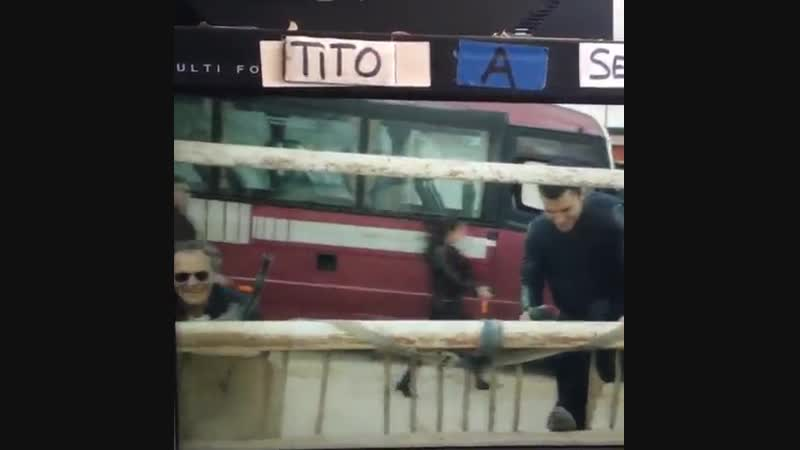 Неудачный дубль со съемок 2-го сезона сериала El Príncipe Instagram I believe i