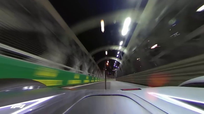 Lewis Hamiltons Pole Lap (Locked 360 Camera) | 2018 Singapore Grand Prix